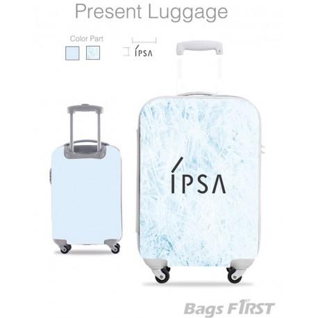 ตัวอย่างกระเป๋าเดินทางสกรีนโลโก้ลูกค้า